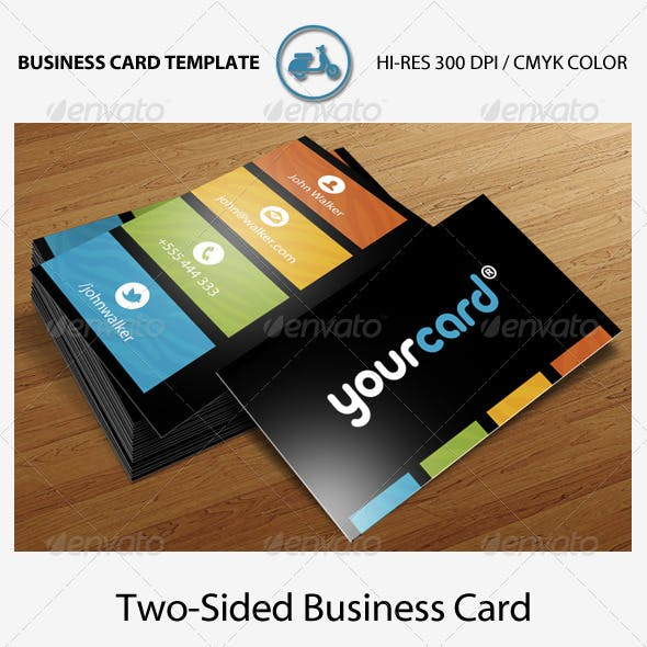 Black Zebra Business Card