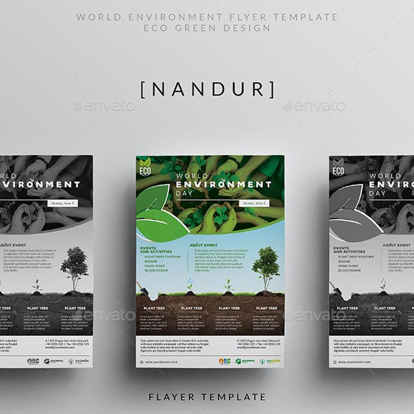 World Environment Day Flyer