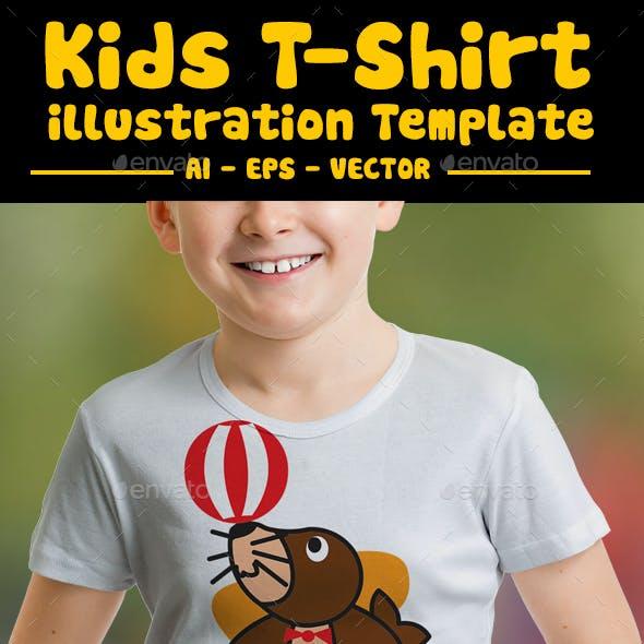 Seals Kids T-Shirt Design