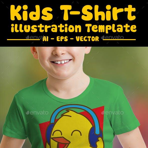 Bird Listening Kids T-Shirt