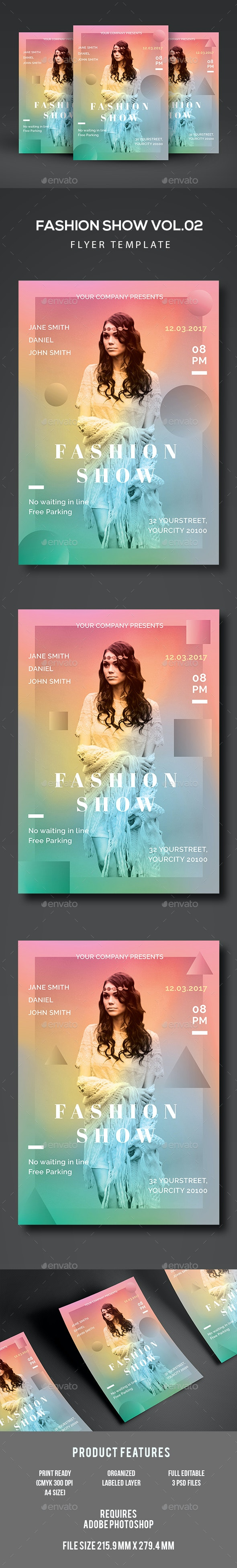 Fashion Show Flyer - Events Flyers