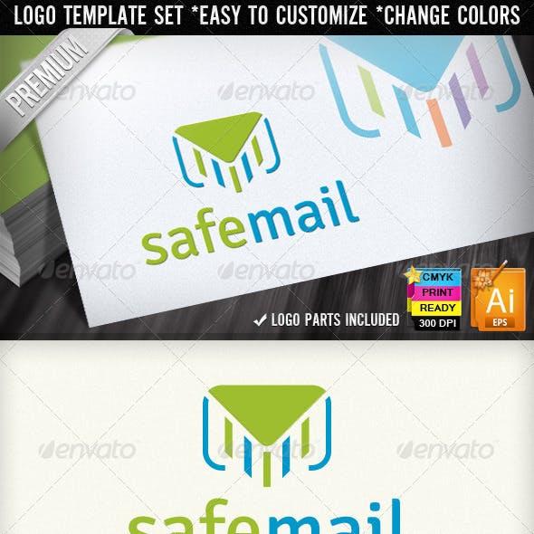 Safe Mail Newsletter Service E-Mail Marketing Logo