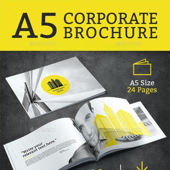 Corporate Brochure - A5
