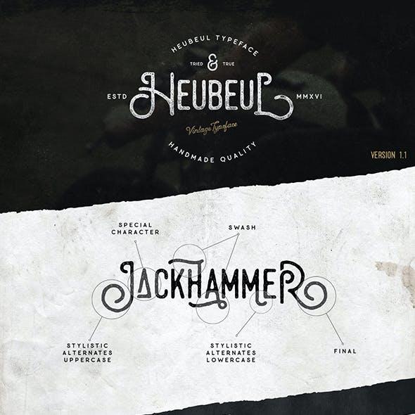 Heubeul Vintage Typeface
