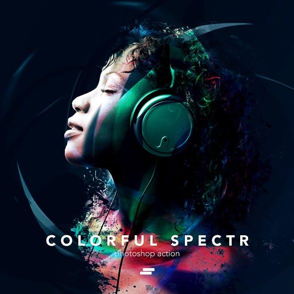 Colorful Spectr Photoshop Action