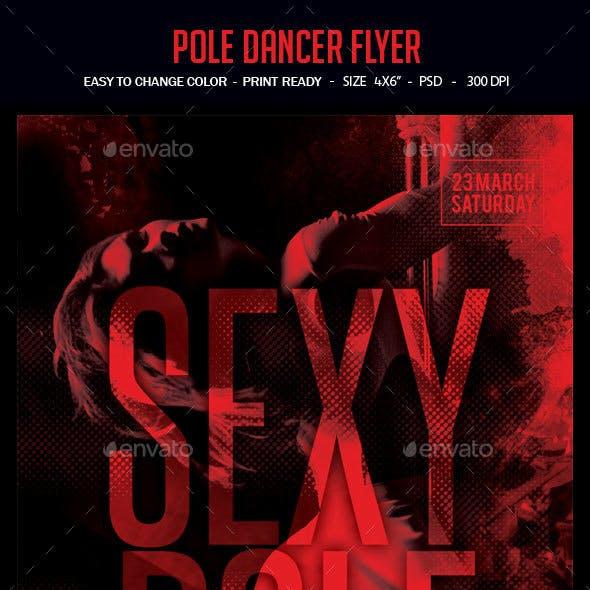 Pole Dancer Flyer