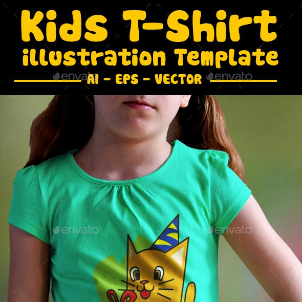 Birthday Kids T Shirt Design