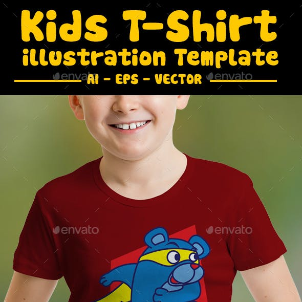 Super Bear Kids T-Shirt