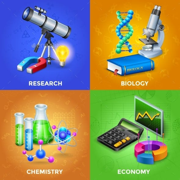 Science 2X2 Design Concept Set