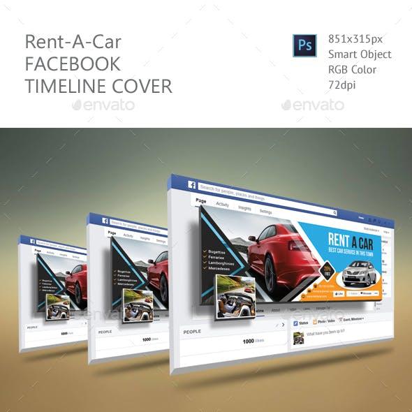 Rent A Car Facebook Timeline Cover