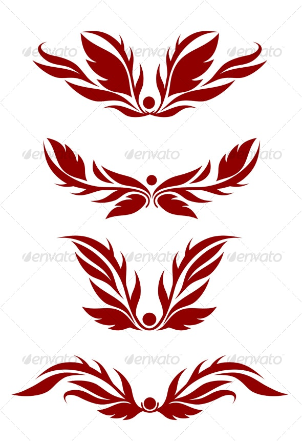 Floral decorations - Decorative Vectors