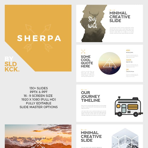 SHERPA - Hipster Keynote Presentation