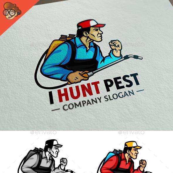 I Hunt Pest Logo