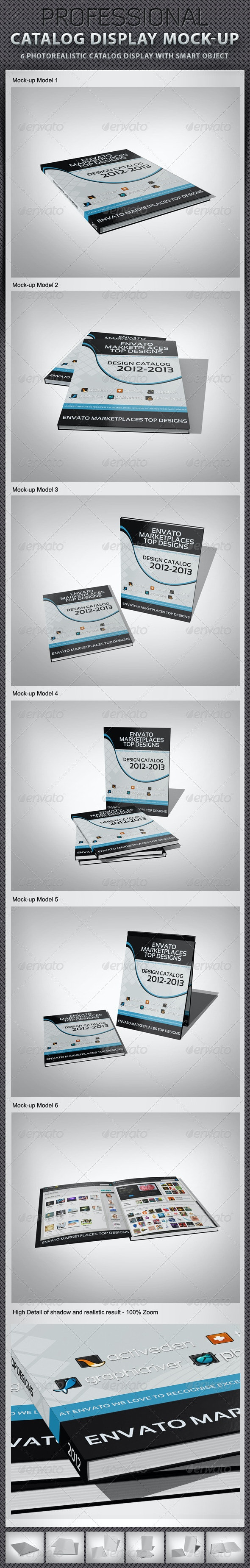 Catalog Display Mock-up - Miscellaneous Print