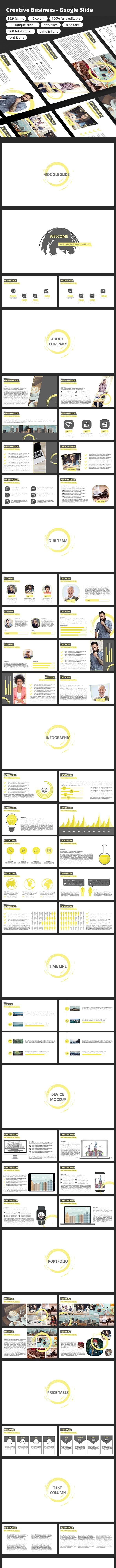 Creative Business - Google Slide - Google Slides Presentation Templates