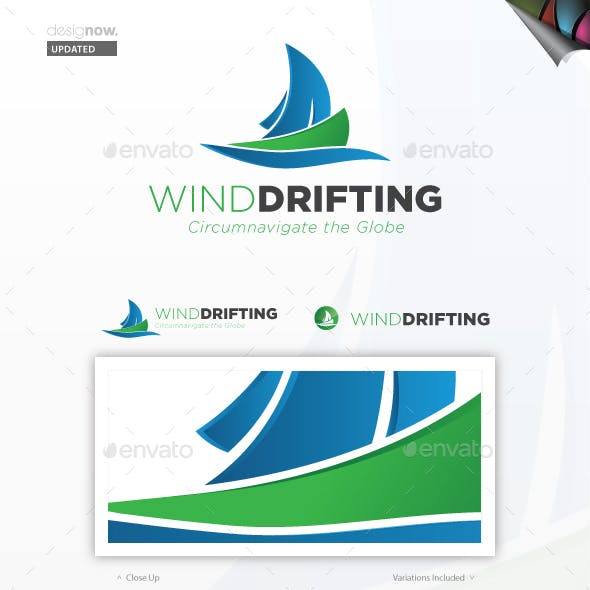 Wind Drifting Logo