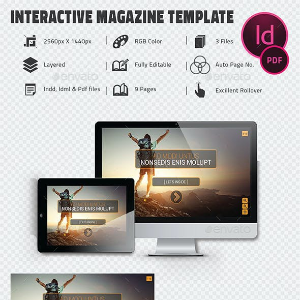 Interactive Pdf CorporateTemplate