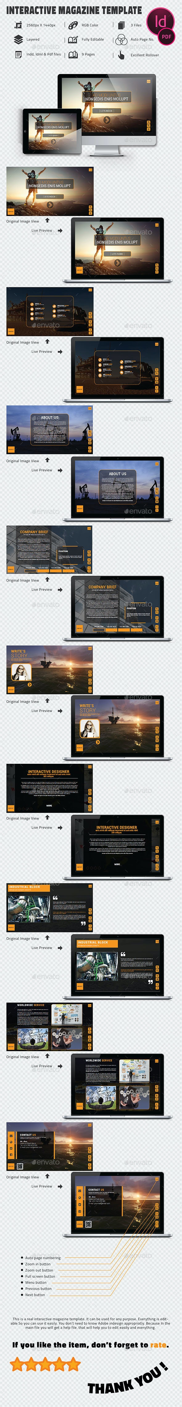 Interactive Pdf CorporateTemplate - Digital Magazines ePublishing