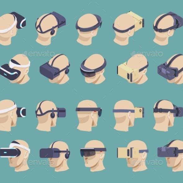 Isometric Virtual Reality Headsets
