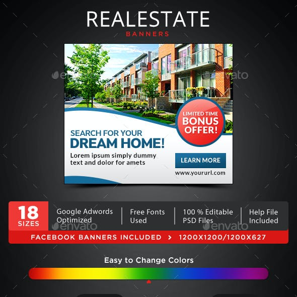 Realestate Banners