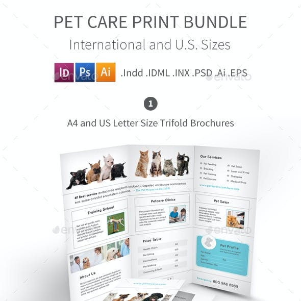 Pet Care Print Bundle 4