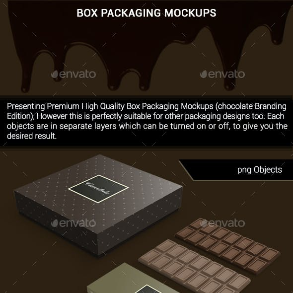 Package Box Mockups
