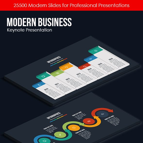 Modern Business - Keynote Presentation Template