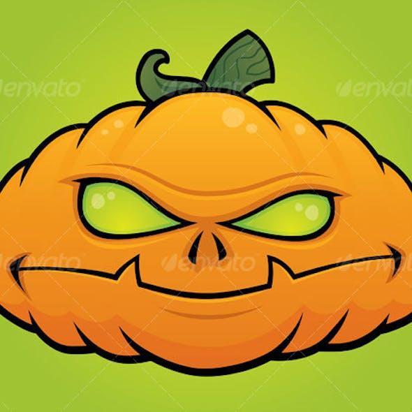 Pumpkin Monster Jack O Lantern