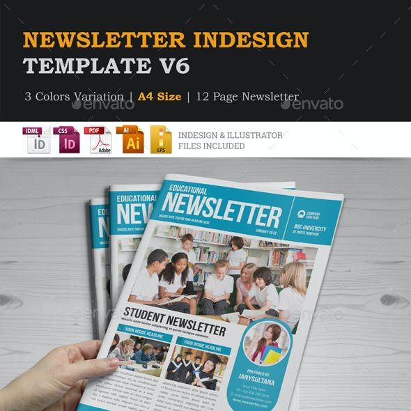 Newsletter Design v6