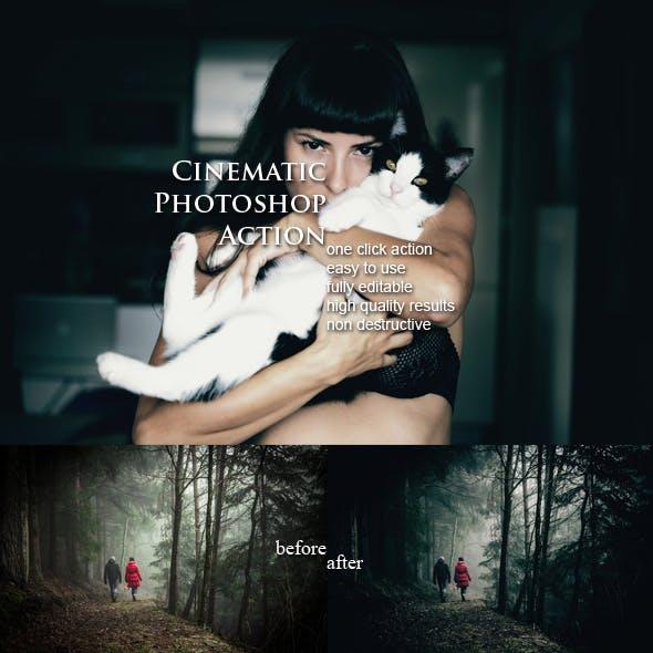 Cinematic Photoshop Action
