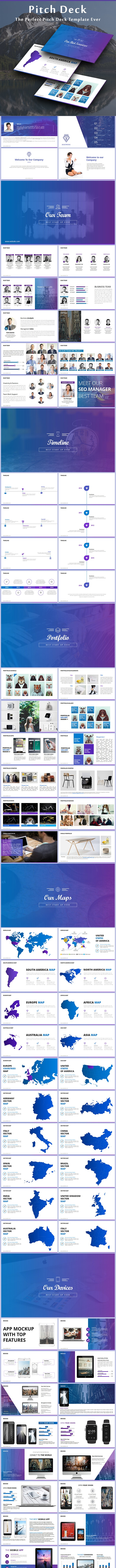 Pitch Deck - PowerPoint Templates Presentation Templates