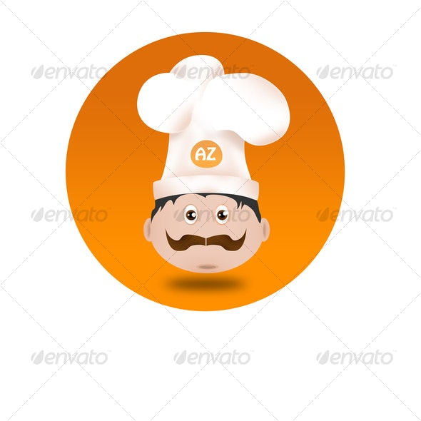 Chef Icon - Characters Illustrations