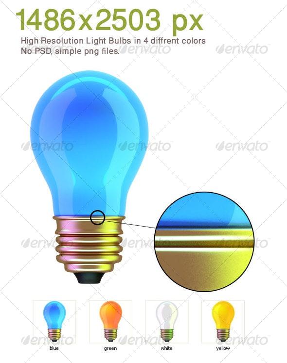 Light Bulbs - Objects 3D Renders