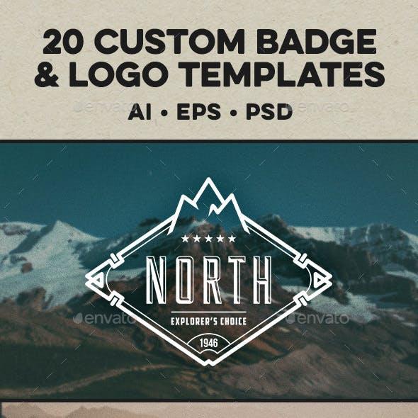 Badge & Logo Templates