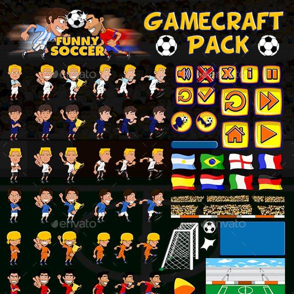 Funny Soccer - Game Assets