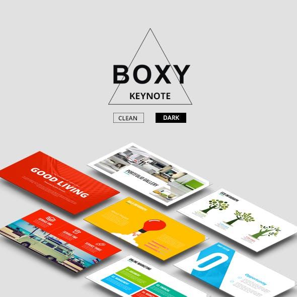 Boxy - Complete Keynote