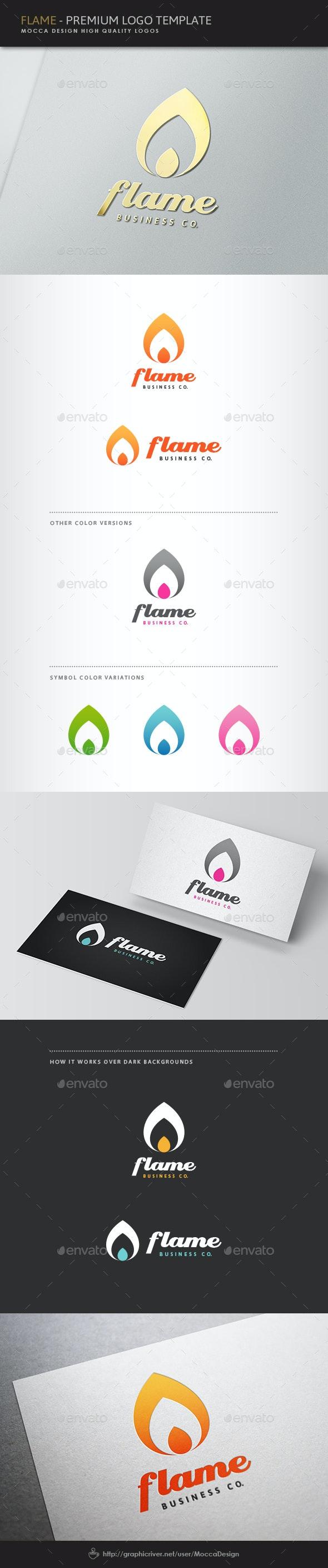 Flame Logo - Symbols Logo Templates