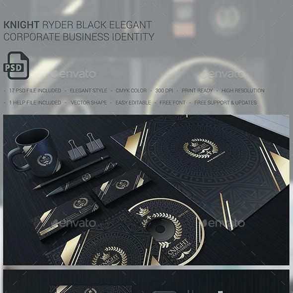 Knight Ryder Bussiness Corporate Stationary Identity