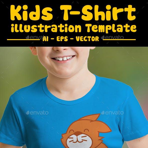 Football Kids T-Shirt Design