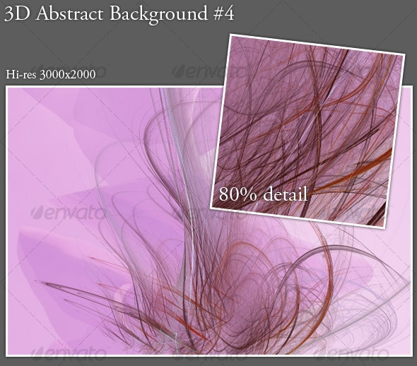 3D Abstract Background #4 - Backgrounds Graphics