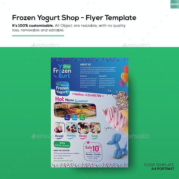 Frozen Yogurt Shop/ Flyer Template
