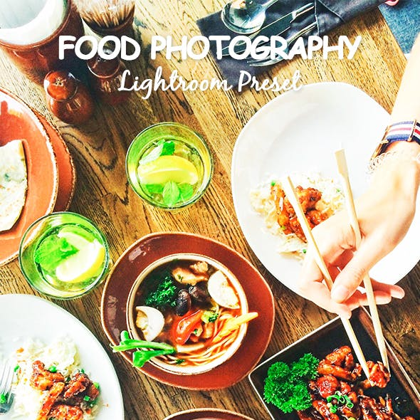 Food Photography Lightroom Preset
