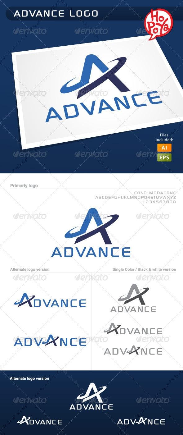 Advance Logo - Letters Logo Templates