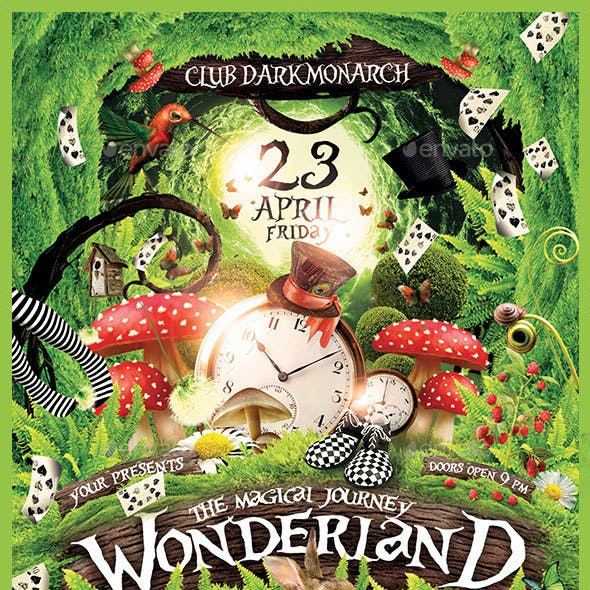 Wonderland Party The Magical Journey