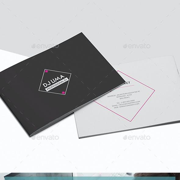 Dj Press Kit Brochure