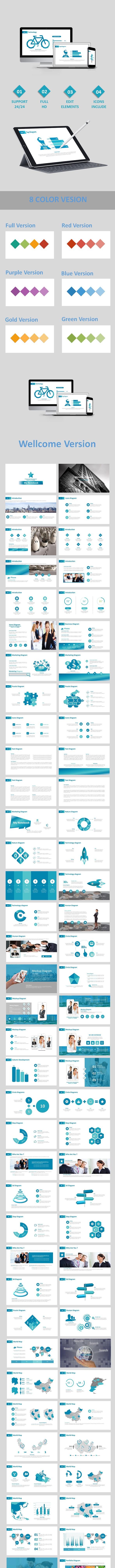 Version Google Slide Templates - Google Slides Presentation Templates
