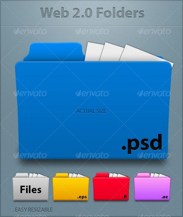 Web 2.0 Folders - Web Elements