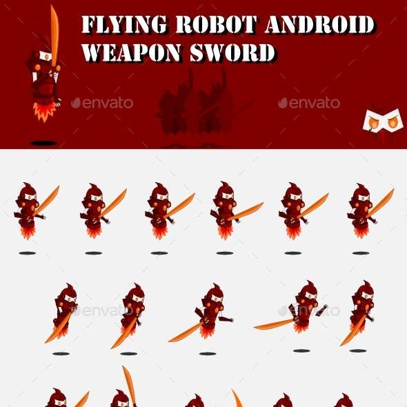 Enemy Robot Sprite Sheet #1