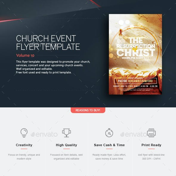 Resurrection - Flyer Template