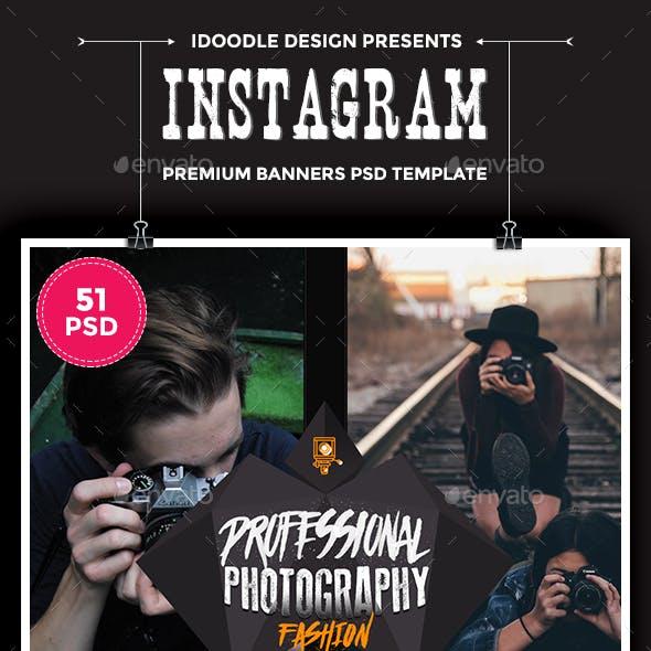 Bundle Photography Instagram - 51 PSD [03 Sets]